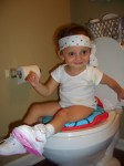 Kendall on Potty