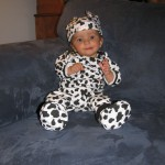 Peyton Cow Costume