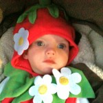 Ava as a Strawberry