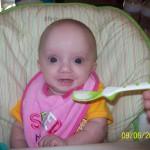 Caroline McKenzie Jenkins at 4 months!