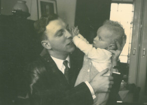 Jaap and his father 1956 1957
