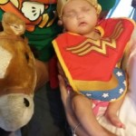 Arianna as Wonder Woman