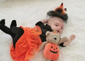 Paige - 1st Halloween