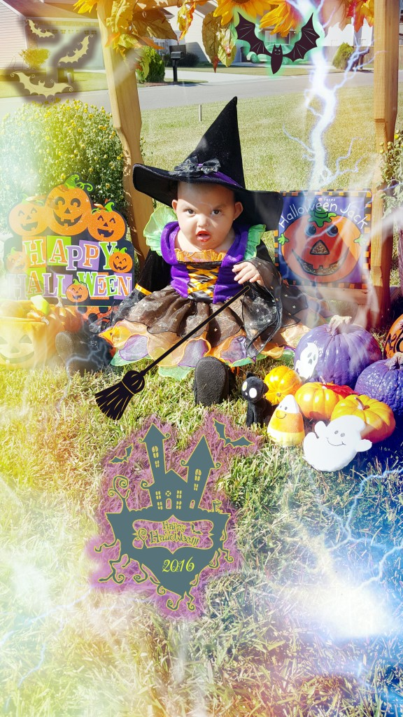 Madison the Cute little Witch