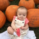 Paige Stealing our Hearts – Halloween 18 Months