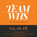 4p- / Wolf-Hirschhorn Syndrome Awareness Day